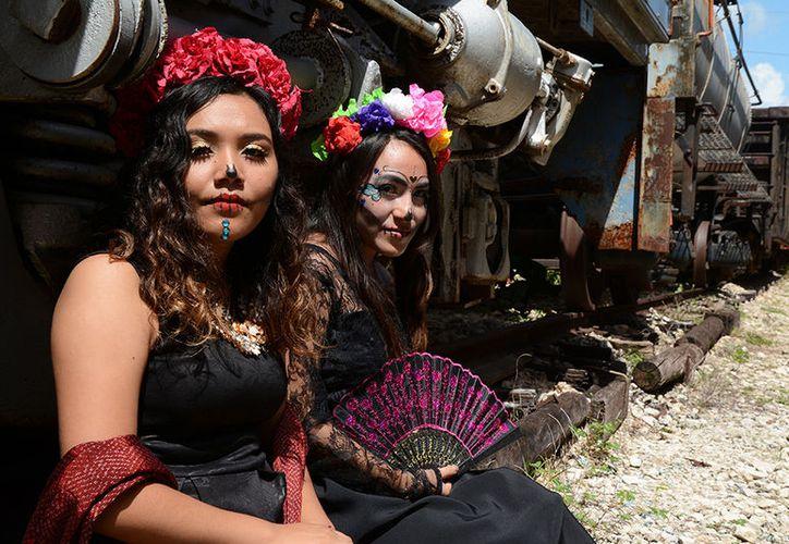 Para estos días de muertos visita el recinto ubicado en La Plancha. (Fotos: Victoria González/SIPSE)