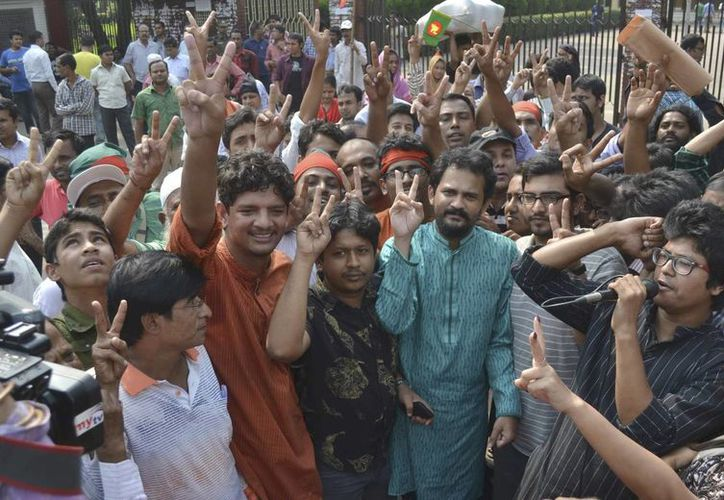 El movimiento del BNP intenta presionar al gobierno de la primera ministra Sheikh Hasina para que renuncie. (EFE/Foto de contexto)