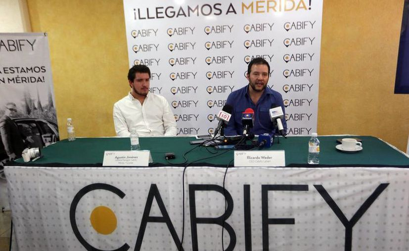 Cabify pretende colocar en Mérida mil vehículos en los próximos dos meses, los cuales se agregarían a las más de dos mil unidades existentes en servicios de este tipo. (Amílcar Rodríguez/ Milenio Novedades)