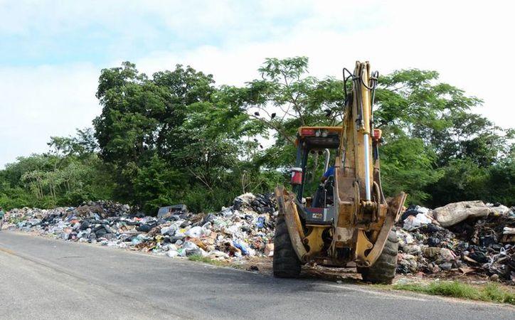 Se está estructurando un plan de acción para controlar el basurero. (Benjamín Pat/ SIPSE)