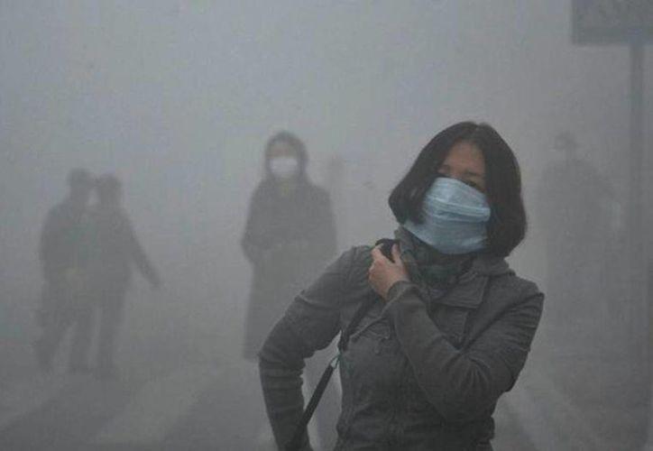 La semana pasada, Beijing emitió su primera alerta roja debido a la mala calidad del aire. (Archivo/AP)