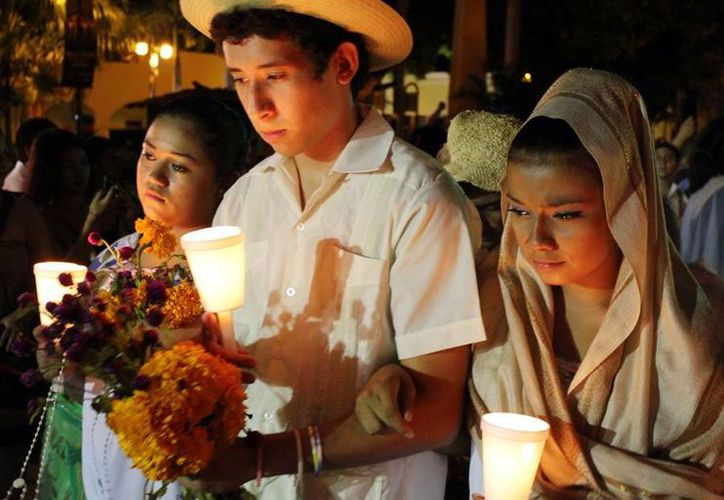 La Gran Muestra Estatal de Altares de Hanal Pixán fue uno de los eventos que promovió Sedeculta durante 2013. (Milenio Novedades)