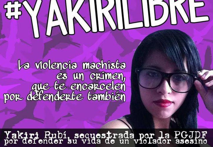 La abogada de Yakiri espera que su cliente sea liberada bajo caución (Facebook/Yakiri Libre)