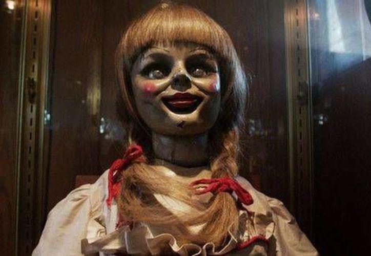 El filme de terror 'Annabelle' se estrena hoy en México, mientras que en Estados Unidos ya es un éxito de taquilla. (Foto especial tomada de Milenio)