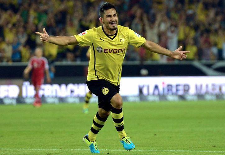 Ilkay Gundogan saldrá del Borussia Dortmund el año que viene. (metro.co.uk)