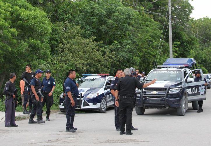 Policías instalarán puntos de control durante el programa. (Rossy López/SIPSE)
