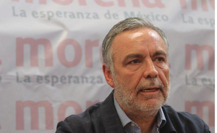 """El dirigente nacional de Morena, Alfonso Ramírez Cuéllar (foto), acusó que el PAN, PRD y Movimiento Ciudadano actúan contra Hugo López-Gatell por """"revanchismo electoral"""", pues su trabajo ha sido reconocido internacionalmente. (Agencia Reforma)"""
