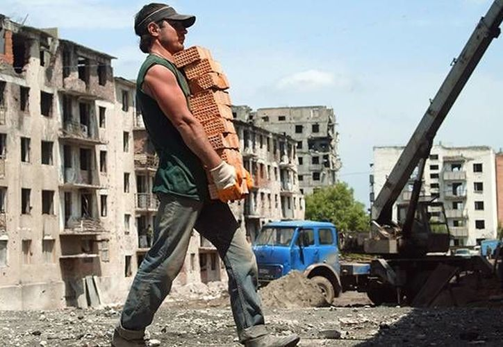 Los trabajadores de la construcción son actualmente los más demandados en el mercado laboral de Rusia. (Ria Novosti)