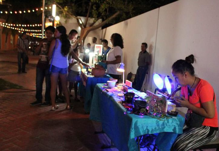 El Callejón del Arte se ubica en la Décima Avenida, entre las calles Seis y Ocho. (Archivo/SIPSE).