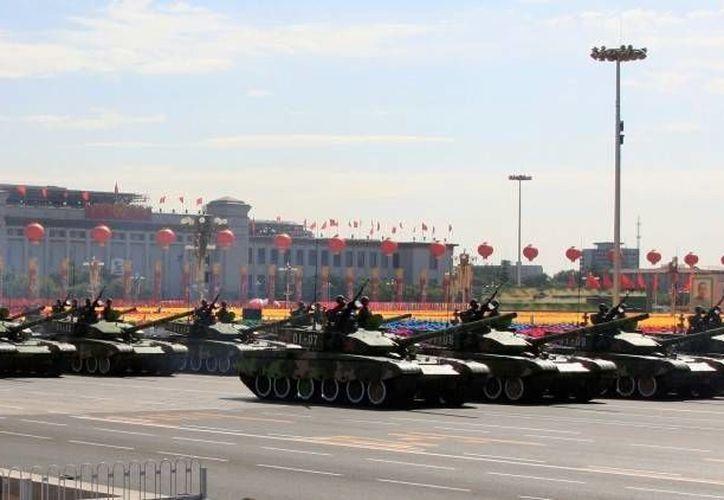 El próximo 3 de septiembre se realizará el desfile militar de China, en el cual mostrará su nueva maquinaria bélica, por primera vez al público. (Archivo/Reuters)