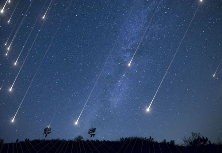 """Podrán observarse hasta 120 meteoros """"Gemínidas"""" por hora. (Cortesía)"""