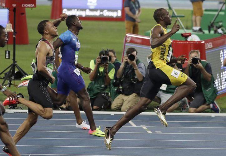 Una vez más, Usain Bolt se coronó en unos Juegos Olímpicos. (AP/ Natacha Pisarenko)
