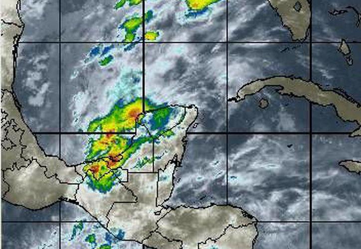 En la Península de Yucatán persistirá el evento de norte con vientos de 50 kilómetros por hora. (www.wsi.com)