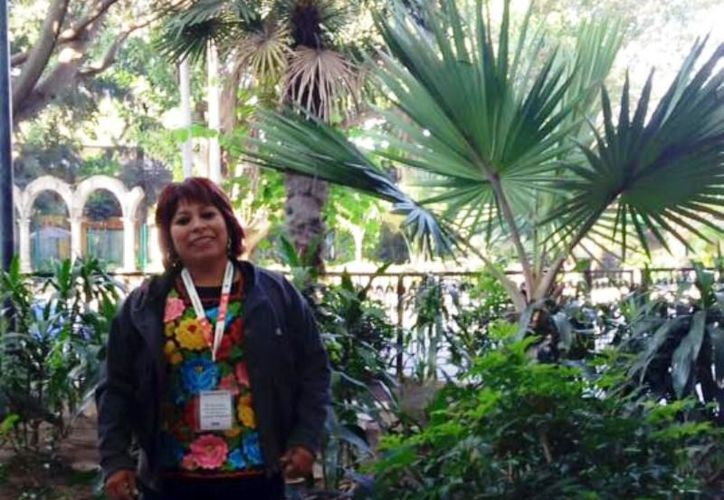 Nacida en Calotmul, Yucatán, Ceh Moo es la primera mujer que gana este galardón. (Foto: redes sociales)