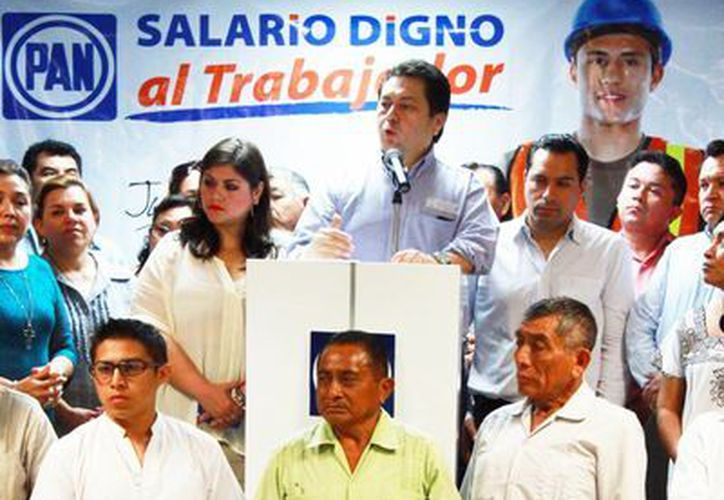 Panistas recabarán firmas para entregarlos a la Cámara de Diputados y a su vez presentar la solicitud al Instituto Nacional Electoral. (Milenio Novedades)