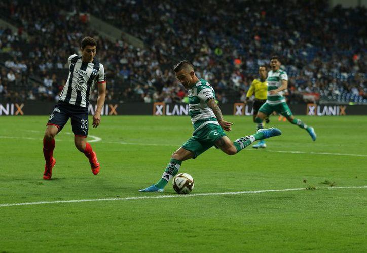 Santos logró empatar 2-2 pero luego perdió el control del partido (Foto: @ClubSantos)