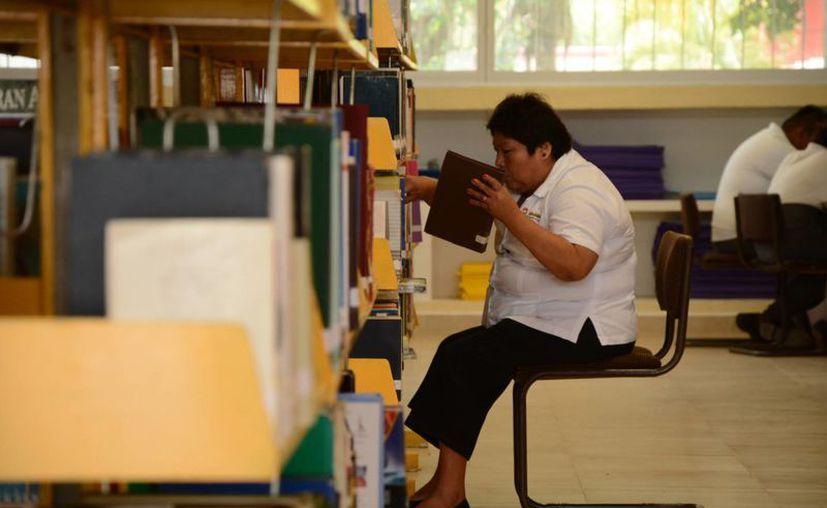En el municipio de Benito Juárez se ubican siete bibliotecas. (Victoria González/SIPSE)