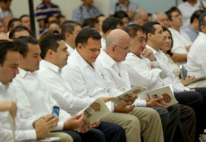 El informe se presentó en el Centro de Convenciones Yucatán Siglo XXI. (SIPSE)