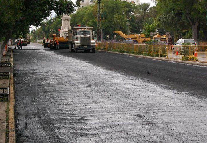 La semana pasada inició el rescate del Paseo de Montejo. (Wilbert Argüelles/SIPSE)