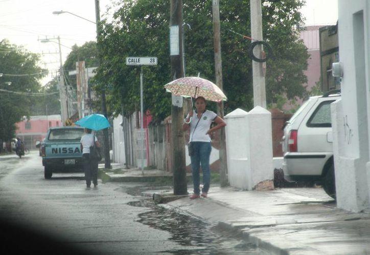 Se espera que este fin de semana haya intensas lluvias en Yucatán; incluso desde este jueves empezarían las precipitaciones. (Jorge Acosta/Milenio Novedades)