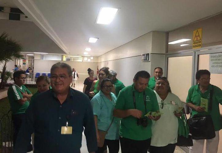 Pedro Pech fue por amplio margen el ganador en las elecciones sindicales del IMSS. (Foto de archivo del SIPSE)