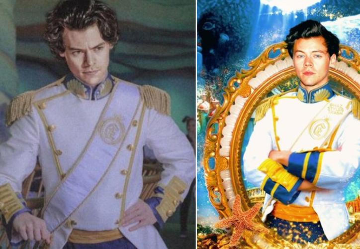 Harry Styles interpretará al Príncipe Eric en la versión live-action de La Sirenita. (Twitter)