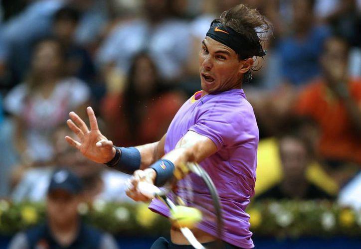 Esta será la segunda final que dispute Rafael Nadal en esta campaña, luego de que la semana pasada perdiera el título ATP de Viña del Mar. (Agencias)