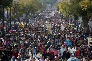 México festeja a su 'Morenita'