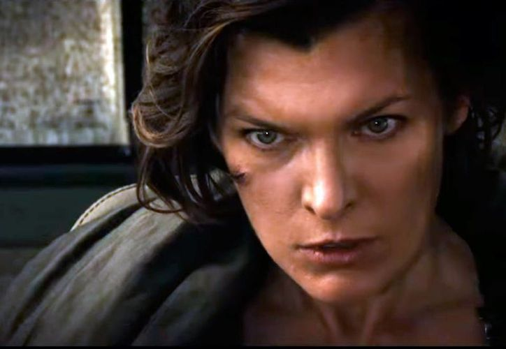 Escena de 'Resident evil: the final chapter', película más vista en las salas de cine de México. (Captura de pantalla/YouTube-Sony Pictures Entertainment)