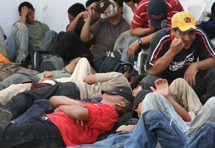Activistas a favor de migrantes destacaron la 'rampante corrupción' que priva en el seno del INM. (Notimex)