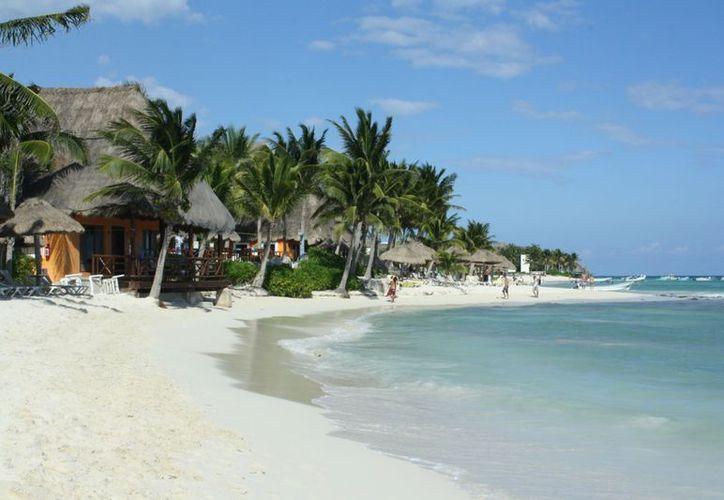 La playa de Shangri-La se erosiona cada vez más con los cambios climáticos. (Alida Martínez/SIPSE)