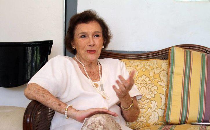 La labor de Elva Villarreal de García Ponce comenzó hace 25 años. (César González/SIPSE)