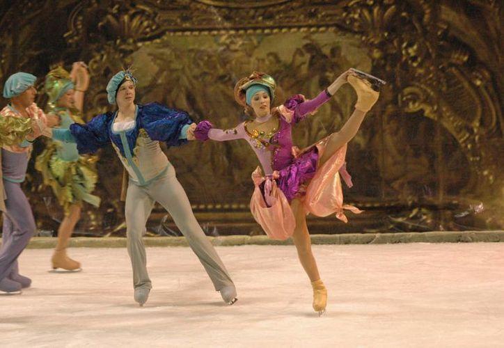 """El el espectáculo de ballet sobre hielo """"Moscow Stars on Ice"""" se presentará en septiembre en Cancún. (Cortesía)"""