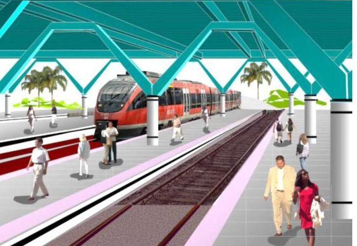 El proyecto de tren transpeninsular mérida-punta venado. (Julián Miranda/SIPSE)