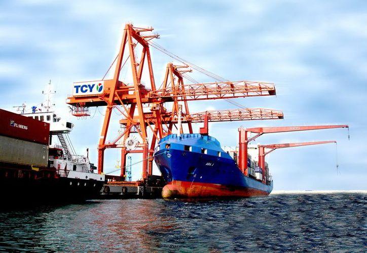 La API espera que para 2014 el viaducto alterno a la terminal portuaria ya esté funcionando. (SIPSE)