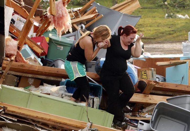 Moore fue el barrio más azotado por el tornado. (Agencias)