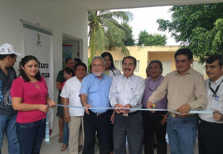 En Temax se inauguró el nuevo Espacio de Cultura del Agua, para inculcar en la ciudadanía la importancia en el cuidado del agua. (SIPSE)