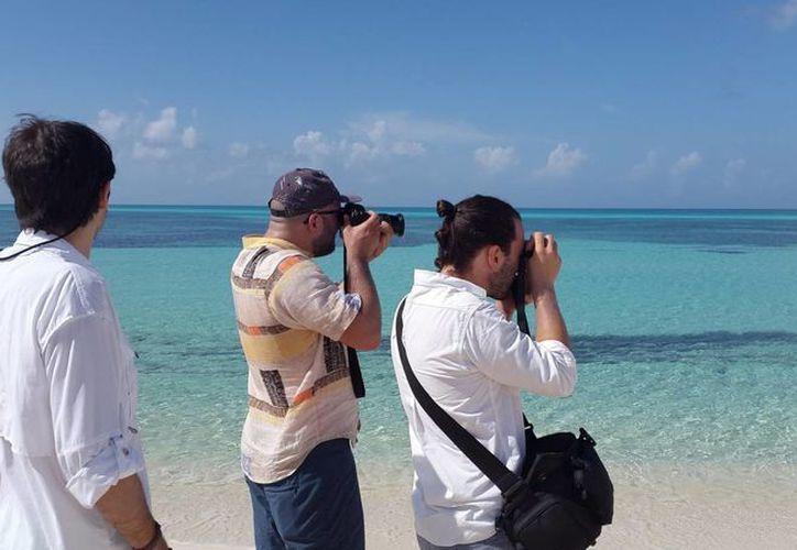 El scouting tuvo una duración de cuatro días en la isla de Cozumel. (Redacción/SIPSE)