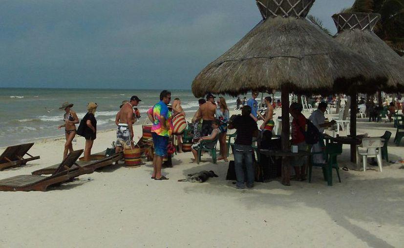 La jornada estuvo muy animada este jueves en Progreso. (Manuel Pool/SIPSE)