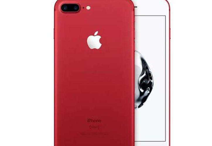 El iPhone 7 RED, llegará a las tiendas en línea el viernes 24 de marzo. (Apple).