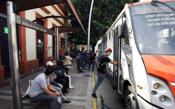 El transporte público es uno de los lugares donde los ciudadanos se sienten más inseguros. (Imagen de contexto/unionjalisco.mx)