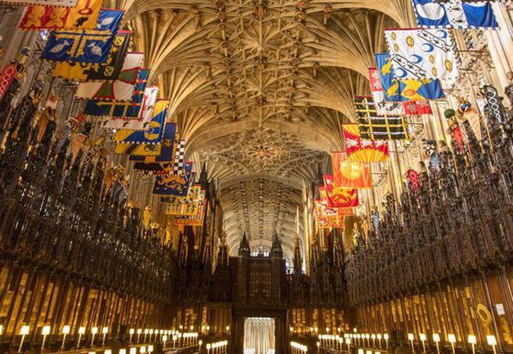 La boda se llevará a cabo en la Capilla de San Jorge, en Windsor. (Internet)