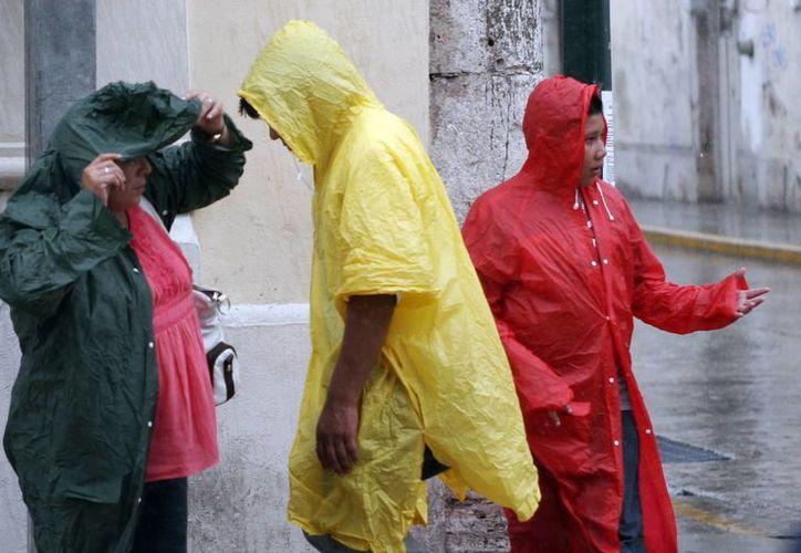 El viernes se registraron algunas lloviznas en Mérida. (Christian Ayala/SIPSE)