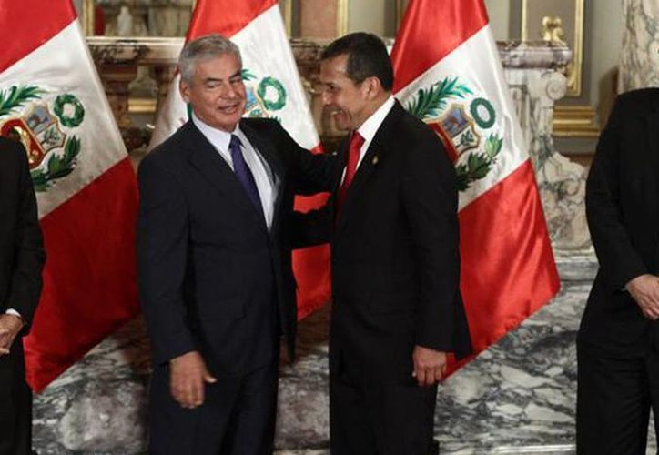 César Villanueva, el presidente Ollanta Humala y el ministro Castilla. (Foto tomada de La República.pe)