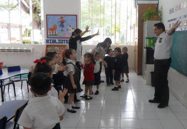 """El programa """"Escudo"""" se aplica a alumnos de los niveles preescolar, primaria y secundaria. (Foto: cortesía)"""
