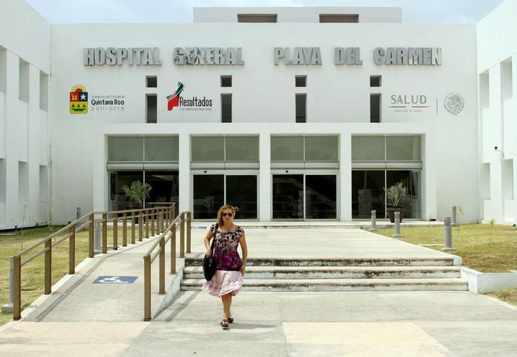 El Hospital General de Playa toma medidas precautorias. (María Mauricio/SIPSE)