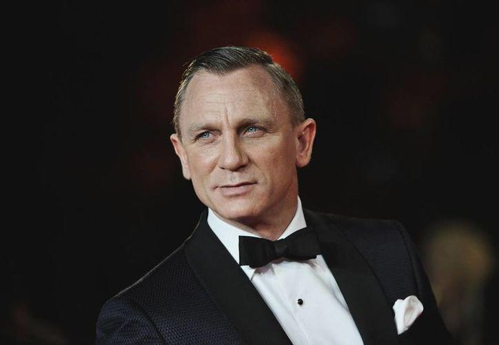 Craig, de 47 años, protagoniza la nueva entrega del James Bond junto a Mónica Belucci. (Archivo/AP)