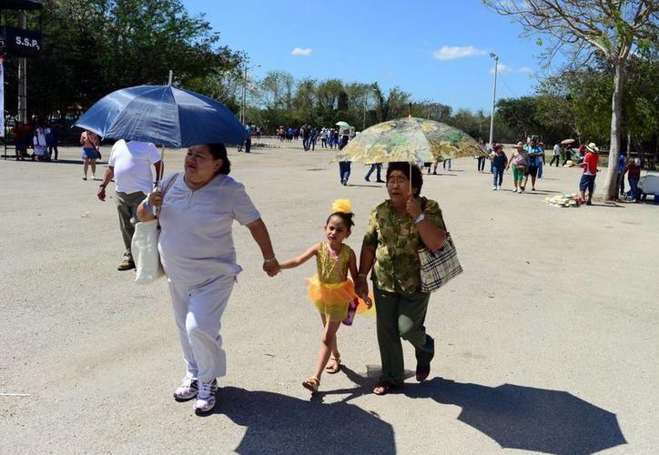 El viernes será día soleado con valores mínimos de 13.0 a 17.0 grados Celsius en Yucatán, y entre los 16.0 y 20.0 grados en Quintana Roo. (SIPSE)