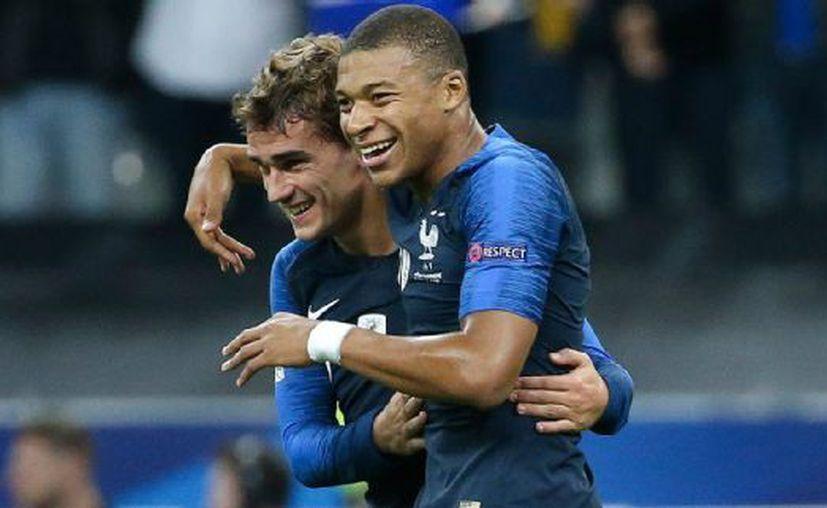 Una pareja francesa decidió llamar a su hijo Griezmann Mbappé y ahora está en la mira de la justicia.  (Getty Images)