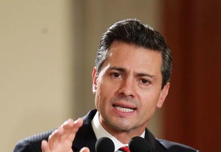 El presidente Enrique Peña Nieto, encabezó la clausura de los trabajos de la XXIV Reunión de Embajadores y Cónsules. (Notimex)